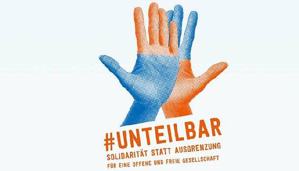 Logo des Demo-Bündnisses Unteilbar