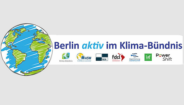 Logo der Initiative Berlin aktiv im Klimabündnis