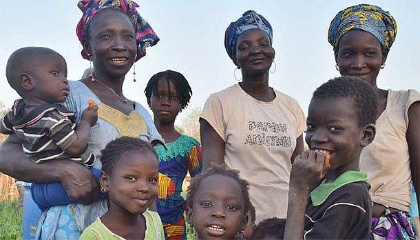Frauen in Koungheul - Senegal