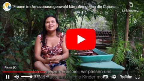 Frauen in Brasiliens Amazonaswald gegen Corona