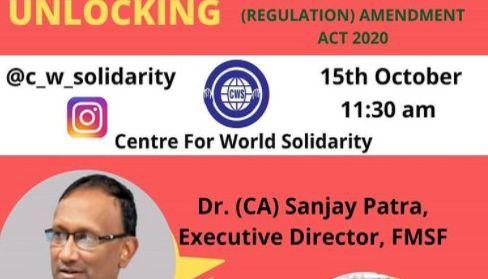 Aufklärung zu FCRA-Gesetz in Indien