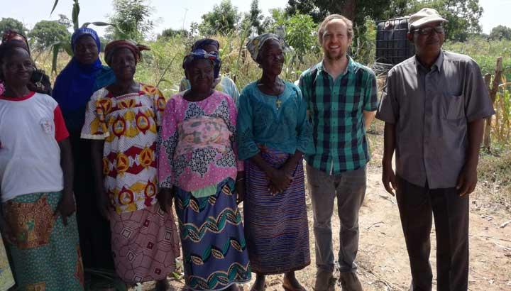 Der ASW Afrikareferent in Burkina Faso