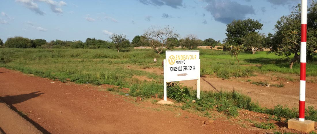 Goldmine in Burkina Faso