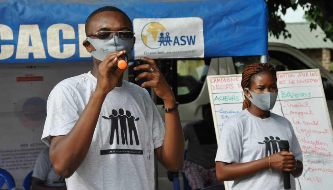 CACIT bei einem Workshop zu Menschenrechten in Togo