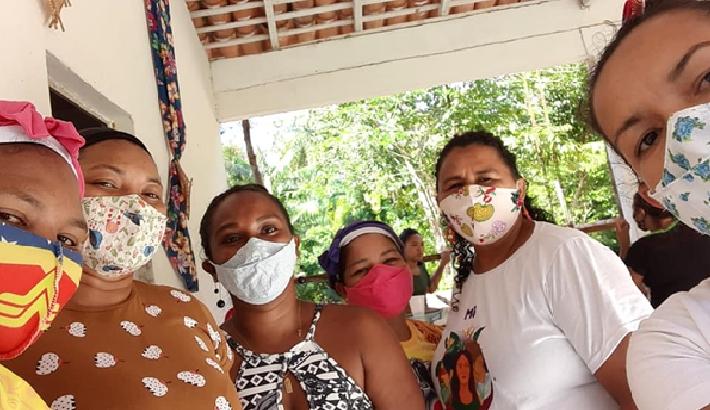 Frauen der Quilombo-Gemeinde Bacuri