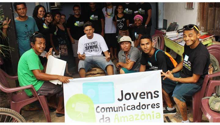 Jugendliche als Sprecher und Verteidiger Amazoniens