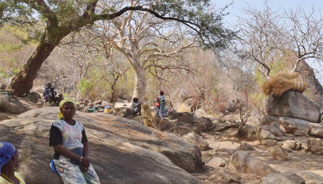 Frauen in der Goldabbauregion Senegals